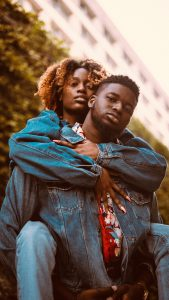 couple-wearing-blue-denim-jacket-3344281